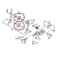 [해외]시마노 Bearing Pulleys RD-980