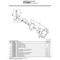 [해외]시마노 Y1GE98050 Left Security Washer