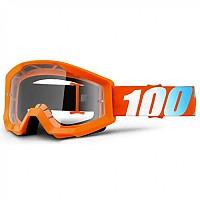 [해외]100% Strata Goggle Orange