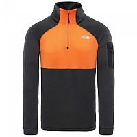 [해외]노스페이스 Impendor Powerdry 1/4 Zip TNF Black / Persian Orange