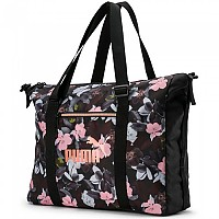 [해외]푸마 Core Seasonal Duffle Puma Black / Floral AOP