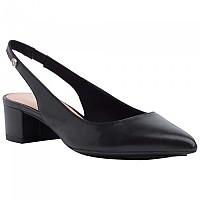 [해외]타미힐피거 SPORTSWEAR Leather Block Heel Pumps Black
