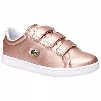 [해외]라코스테 Caranby Evo Strap Pink / White