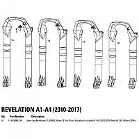 [해외]ROCKSHOX Revelation Black