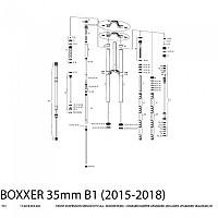 [해외]ROCKSHOX Boxxer Team Charger Kit