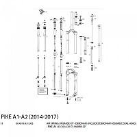 [해외]ROCKSHOX Debonair Pike Kit