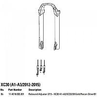 [해외]ROCKSHOX Rebound Adjuster XC30/30 Gold/30 Silver Black