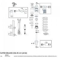 [해외]ROCKSHOX Service Kit 200H/1 Year Super Deluxe Coil Remoto