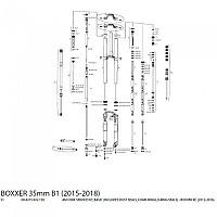 [해외]ROCKSHOX Basic Seal Kit Boxxer RC 12-16 Black
