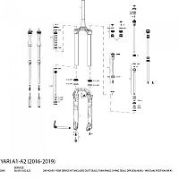 [해외]ROCKSHOX Service Kit Yari Dual Air 200H
