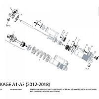 [해외]ROCKSHOX Kage 13 Maintenance Kit