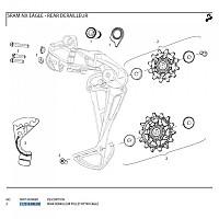 [해외]스램 X-Sync NX Eagle 12 Speed Derailleurs Black