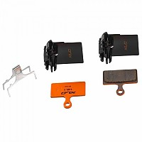 [해외]XLC Pro Disc Brake Pads BP H25 Orange