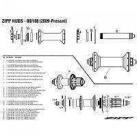 [해외]ZIPP Reinforce Ring Radial 188 Smoke