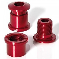 [해외]XLC Chain Ring Screws Coloured Edition 5 Pieces Red
