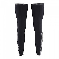 [해외]크래프트 Shield Leg Warmer Black / Silver Reflective