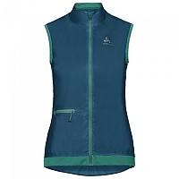 [해외]오들로 Fujin Vest Crystal Teal / Pool Green