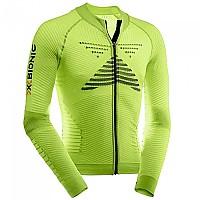 [해외]엑스 바이오닉 Effector Biking Powershirt L/S Full Zip Green Lime / Black