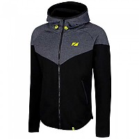 [해외]ZONE3 Cotton Casual Hoodie 1137079360 Black / Grey / Lime