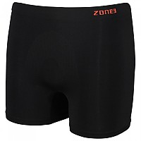 [해외]ZONE3 Seamless Support Boxers Black / Orange