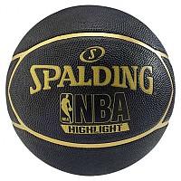 [해외]스팔딩 NBA Highlight Outdoor Black / Gold