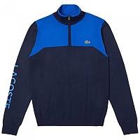 [해외]라코스테 Sport Stand Up Neck Technical Wool Golf Navy / Aviator / Orange
