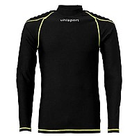 [해외]울스포츠 Torwarttech Protec. Baselayer Shirt Ls Black / Fluoryellow