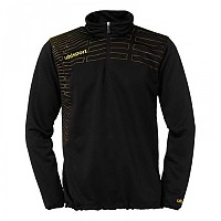 [해외]울스포츠 Match 1/4 Zip Top Black / Lime Yellow