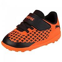 [해외]푸마 Future 2.4 TT Velcro Infant Puma Black / Shocking Orange