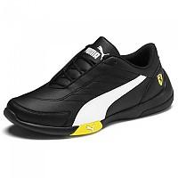 [해외]푸마 Scuderia Ferrari Kart Cat III Junior Puma Black / Puma White / Blazing Yellow