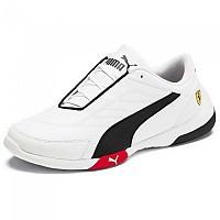 [해외]푸마 Scuderia Ferrari Kart Cat III Junior Puma White / Puma Black / Rosso Corsa