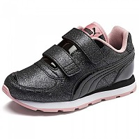 [해외]푸마 Vista Glitz Velcro PS Puma Black / Bridal Rose / Puma White