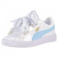 [해외]푸마 SELECT Basket Heart Stars PS Puma White / Cerulean