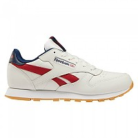 [해외]리복 CLASSICS Leather Junior Chalk / Power Red / Navy