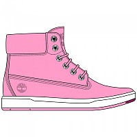[해외]팀버랜드 Davis Square 6 Inch Boot Youth Prism Pink Nubuck