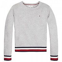 [해외]타미힐피거 KIDS Essential Global Stripe Grey Heather