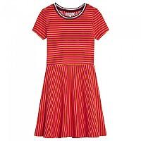 [해외]타미힐피거 KIDS Stripe Knit Skater Virtual Pink / Russet Orange