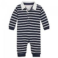 [해외]타미힐피거 KIDS Baby Rugby Stripe Coverall Black Iris