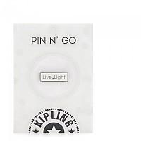 [해외]키플링 Live Light Pin New White
