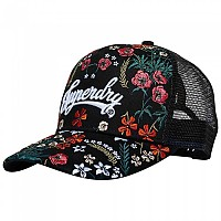 [해외]슈퍼드라이 Embroidery Trucker Aya Posie