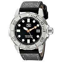 [해외]싼토 5101 5100 Series Steel / Waterproof Leather Black