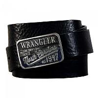 [해외]WRANGLER Ctf Denim Buckle Belt Black