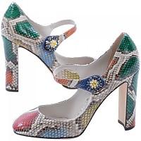 [해외]돌체앤가바나 Heeled Shoes Print