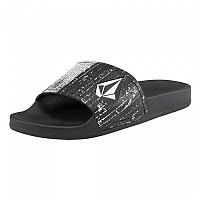 [해외]볼컴 Dont Trip Mens Slide Black White