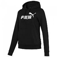 [해외]푸마 ESS Logo Hooded Black