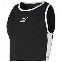 [해외]푸마 Classics Logo T7 Cropped Puma Black