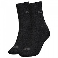 [해외]푸마 언더웨어 2 Pack Sock Anthracite