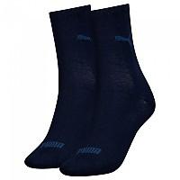 [해외]푸마 언더웨어 2 Pack Sock New Navy
