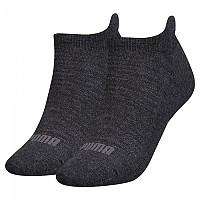 [해외]푸마 언더웨어 Sneaker 2 Pack Anthracite