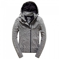 [해외]슈퍼드라이 Core Gym Ziphood Speckle Charcoal